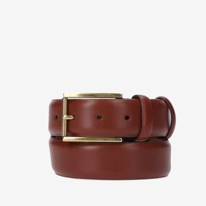 Cole Haan NWT 36 Buckle Stretch Brown Belt